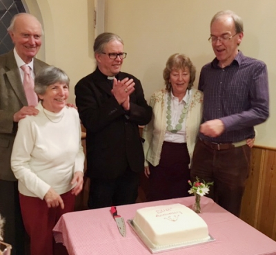Celebrations at Braishfield URC